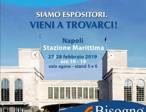 Siamo espositori a hospitalitysud  – Napoli Stazione Marittina 27/28 febbraio 2019