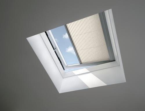 La finestra per tetti piani con apertura elettrica CVP INTEGRA®